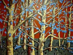 Autumn Blues (sold)
